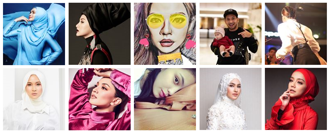 Top 10 Instagram influencers in Malaysia