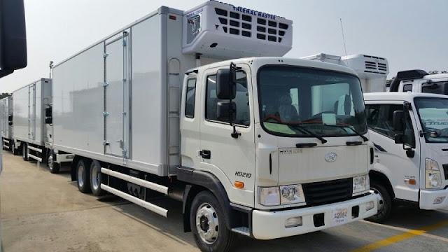 Cơ sở đóng thùng đông lạnh xe tải