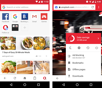 opera mini browser apk