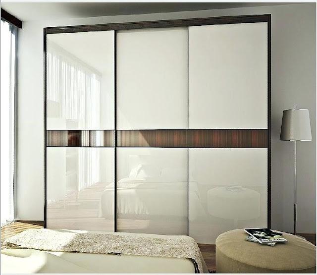 White bedroom wardrobe designs