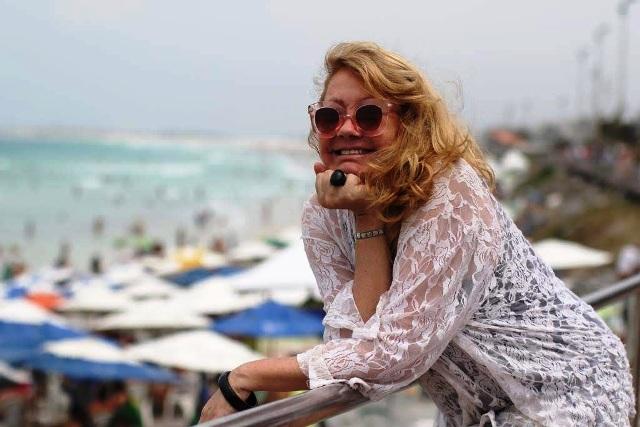 Durante o Festival em Cabo Frio