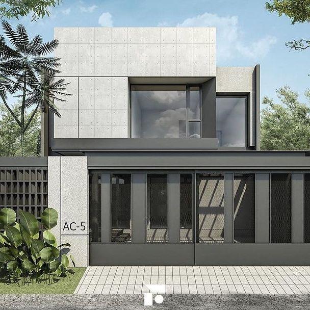 desain rumah minimalis 2 lantai 6x12 dan biayanya