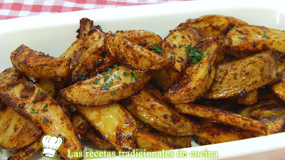 Receta fácil de patatas al estilo Cajún