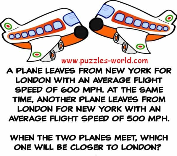 Two Planes Puzzle