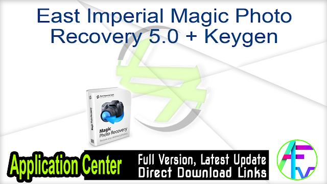East Imperial Magic Photo Recovery 5.0 + Keygen