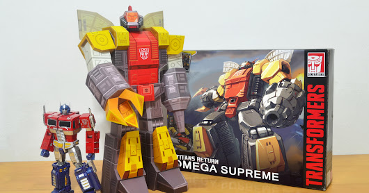 Omega Supreme - masterpiece papertoy