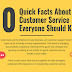 10 Quick Facts About Customer Service Everyone Should Know #infographic