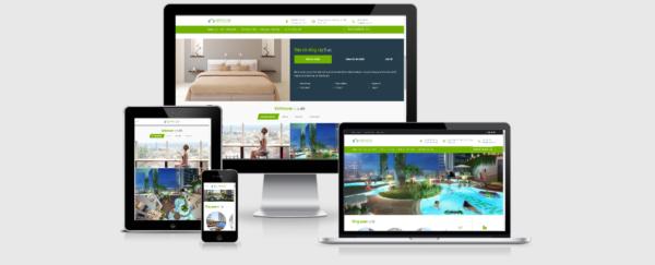 Theme WordPress bất động sản tuyệt đẹp – VinHouse