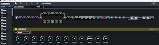 GT-1000CORE は 24 種類ものエフェクトを同時使用できる