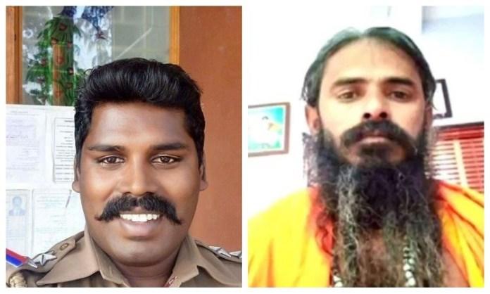 హిందువుల మతమార్పిడిని నిరోధించడంతో సాధువు శరవణన్ పై దాడి చేసిన సబ్ ఇన్స్పెక్టర్ ఆంథోనీ మైఖేల్ - Police officer Anthony Michael beat up Sadhu Saravanan as his activities prevented conversion of Hindus, claims Hindu Makkal Katchi