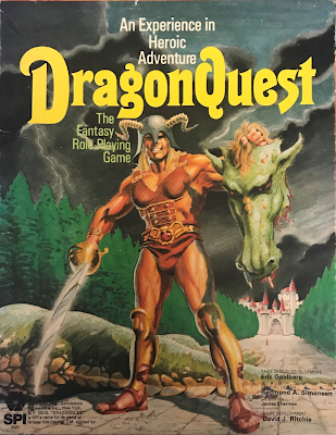 DragonQuest, 1st Edition