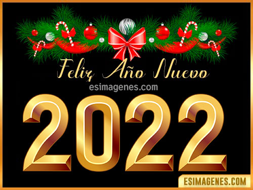 feliz año nuevo 2022 imágenes