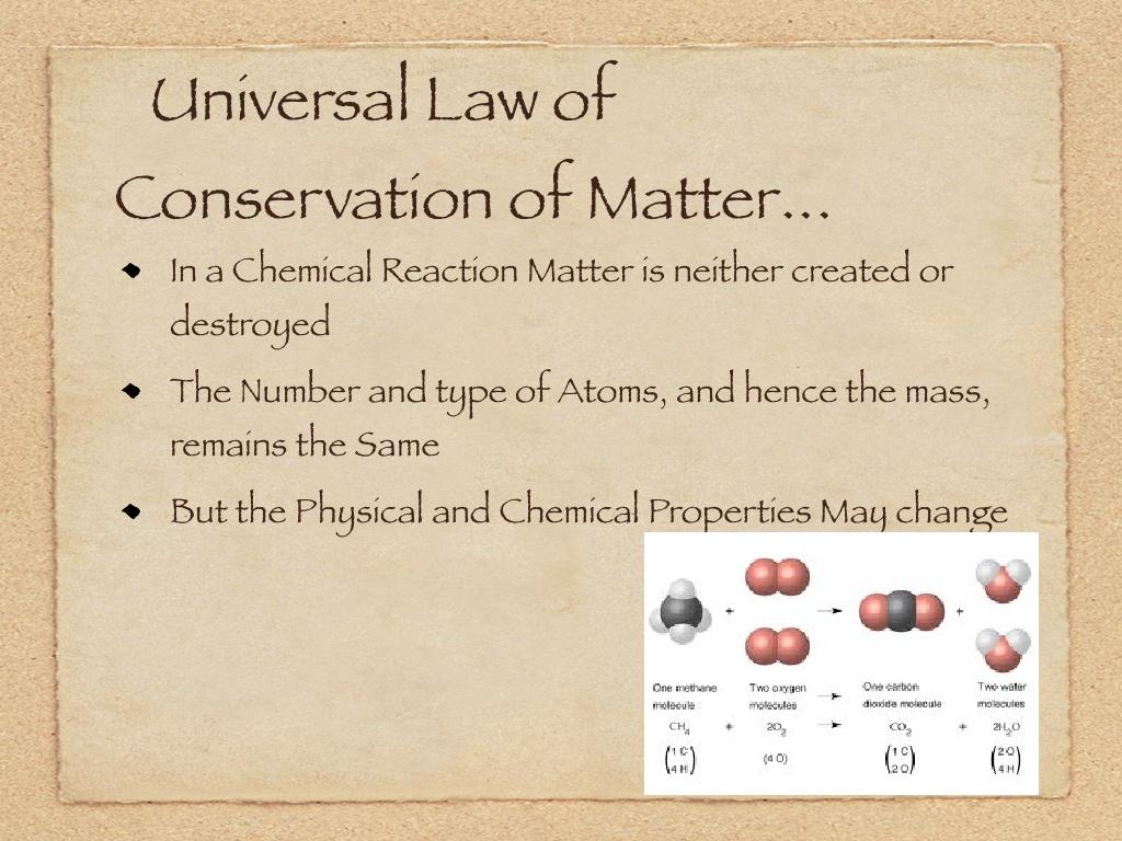 You can convert matter into energy (as per Einstein's E ...