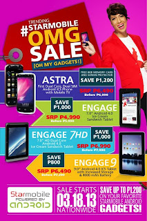 Starmobile Oh My Gadgets OMG Sale