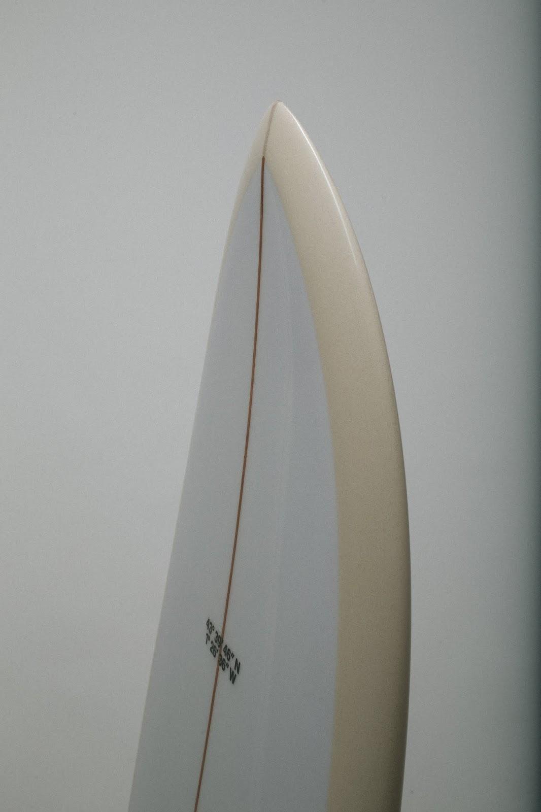 surfinestate surf Hossegor France gains board twin fin stevelis Arthur Nelli Vincent Lemanceau shape shaper handshape trueames stussy sdouble blendglassing usblanks