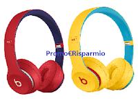 Logo DOVE ''I colori dell'autostima'': vinci Cuffie Wireless Solo3 ogni giorno