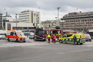 الارهاب يضرب فنلندا، طعن عدة أشخاص بمدينة توركو واعتقال مشتبه به
