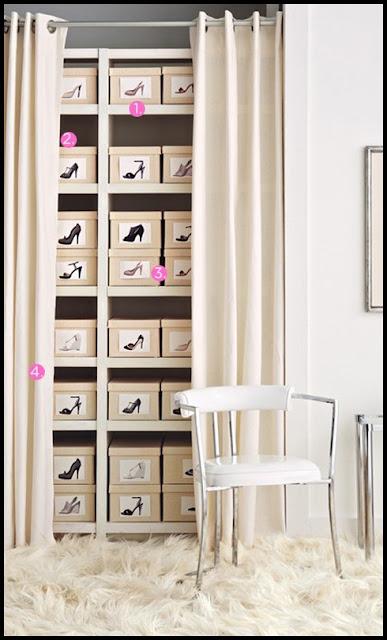 6 trucos infalibles para ordenar un armario o vestidor