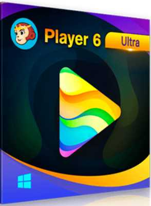 DVDFab Player Ultra 6.0.0.9 poster box cover