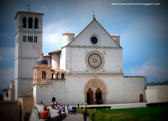 Upper Chapel St. Francis Basilica, medieval building Assisi Italy, Umbria Italy, things to see in Assisi