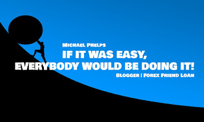 IF IT WAS EASY, EVERYBODY WOULD BE DOING IT, Michael Phelps, Quote, Motivational Quote, Inspirational Quote