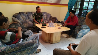 Dandim 0824 Jember Sambang ke DPC Gerindra Jember
