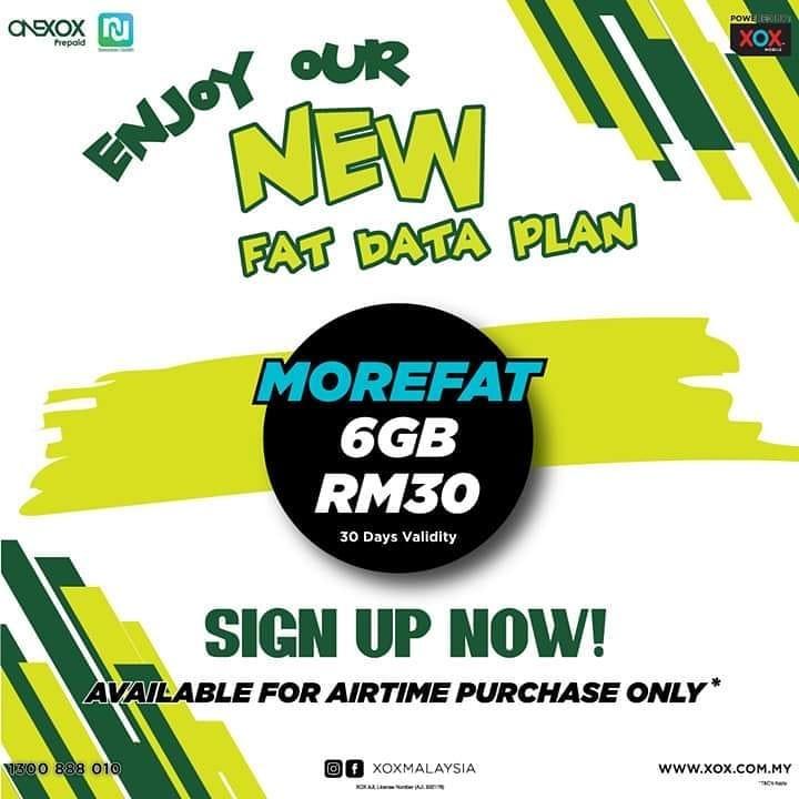 ONEXOX Data MOREFAT 6GB