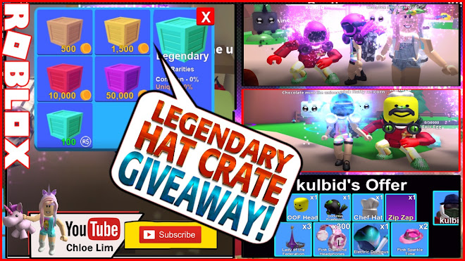 Roblox Mining Simulator Gameplay! UPDATE 3 LEGENDARY HAT CRATE GIVEAWAY