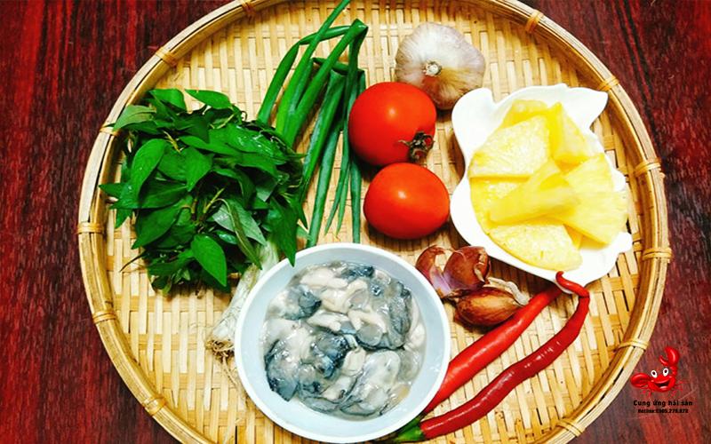 Canh chua hau ruot