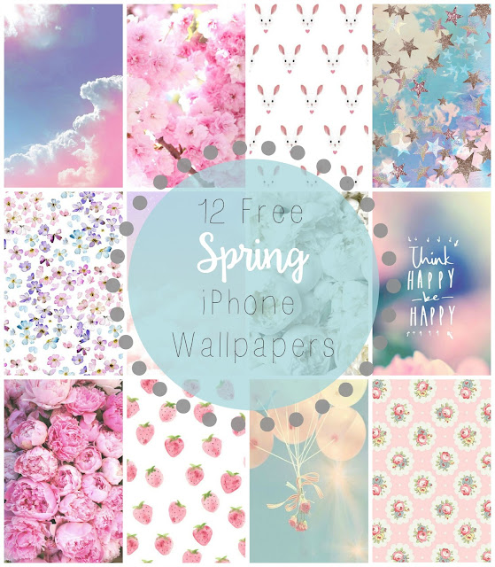 12 Free Spring iPhone Wallpapers