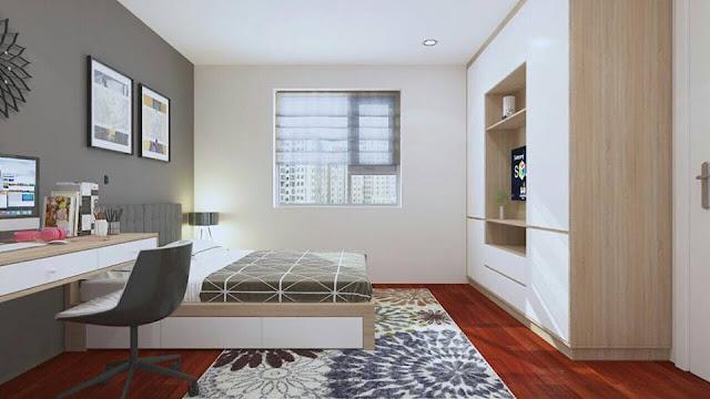 Mẫu thiết kế nội thất phòng ngủ 2