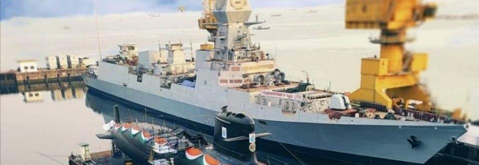 Зоря-Машпроект завершила монтаж ГЗТА на есмінці Visakhapatnam