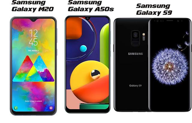 3 Hp Samsung dengan RAM 4GB Terbaik 2020
