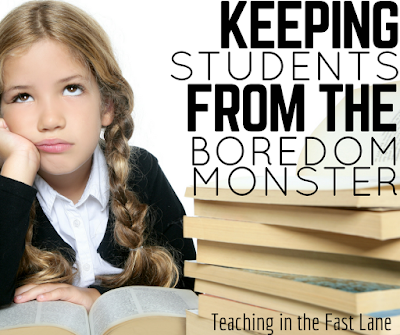 Are you losing your students to the boredom monster? Try these actionable tips to win them back!
