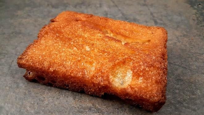 Croûtons de pain au beurre clarifié