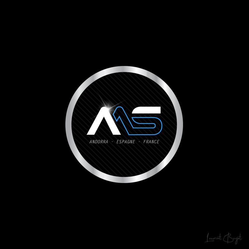 logo luxe argenté automobile