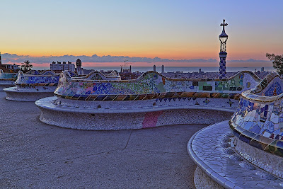 parc guell gaudi barcellona