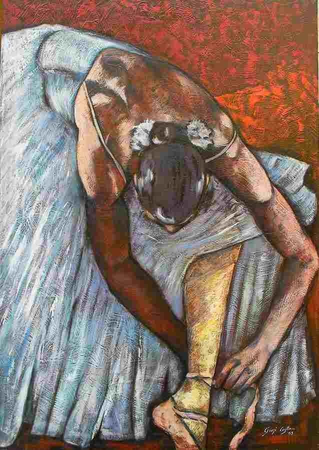 Современная итальянская художница. Giosi Costan