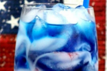 Captain America Kids Drink Recipe