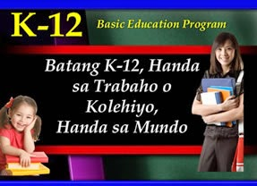 List of K to 12 Program Grade 1 to 10 Subjects