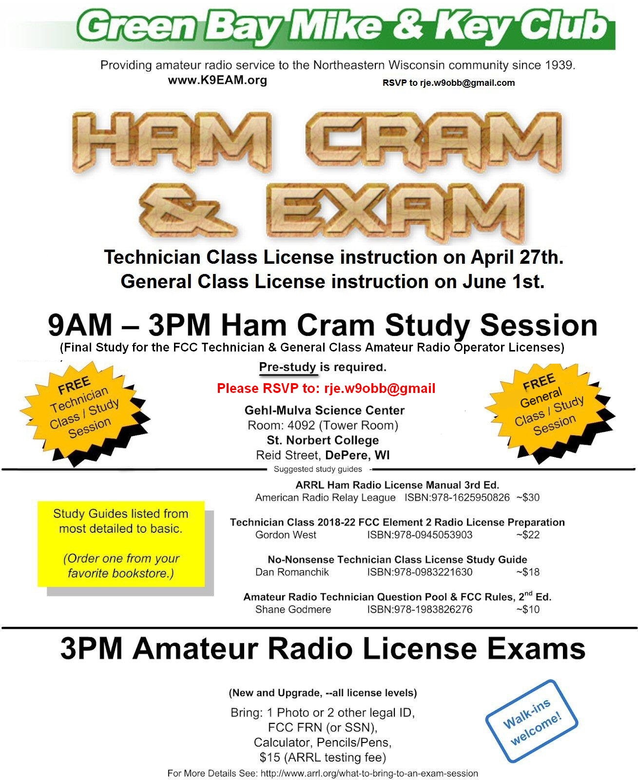 All amateur radio thech exam questions 2010