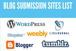 Top Free High Authority Blog Submission Sites Lists