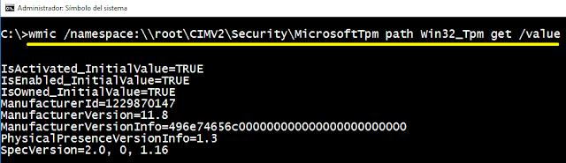 Windows: TPM verificar estado