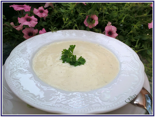 Low Carb Spargelcremesuppe - Крем супа от бели аспержи