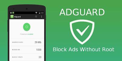 Aplikasi Blokir Iklan Tanpa Root Adguard Apk Android