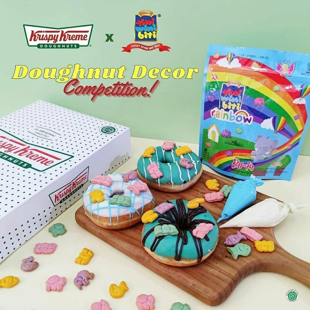 Krispy Kreme Doughnut Decor Competition 2021