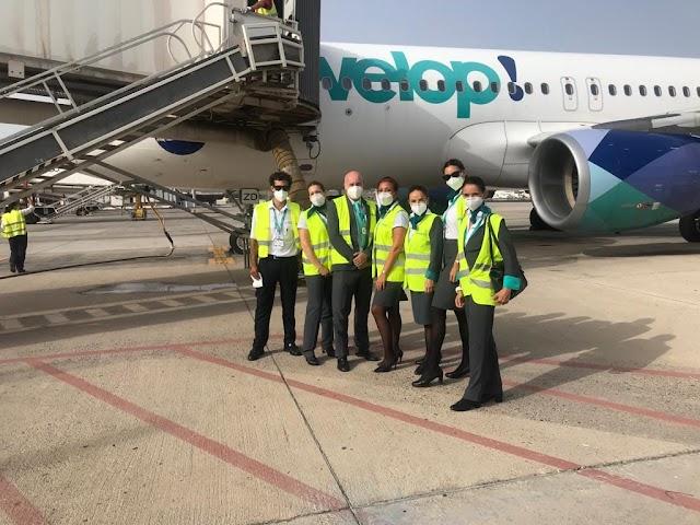 Evelop inicia sus vuelos a Canarias desde algunas de las principales ciudades españolas