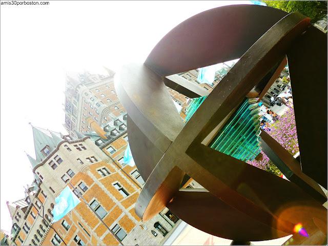 Monumento de la UNESCO en la Ciudad de Quebec