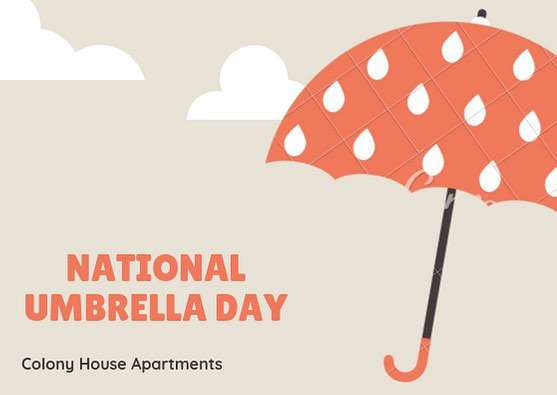 National Umbrella Day Wishes Beautiful Image
