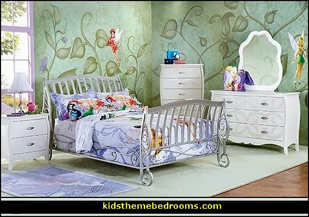 tinkerbell bedroom tinkerbell bedding tinkerbell mural tinkerbell bedroom decorating